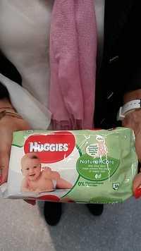 Huggies - Natural care - lingettes bébé
