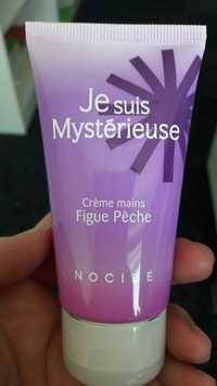NOCIBÉ - Je suis mystérieuse - Crème mains figue pêche