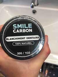 Smile Carbon - Blanchiment dentaire 100% naturel