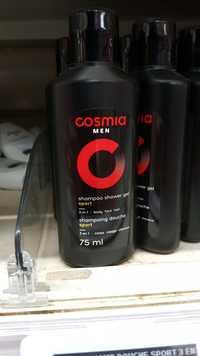 Cosmia - Men - Shampoing douche sport 3 en 1