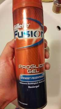 GILLETTE - Fusion - Proglide gel