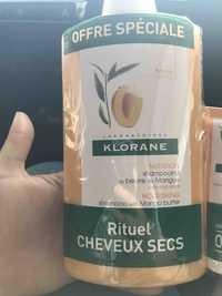 KLORANE - Nutrition - Shampooing au beurre de mangue