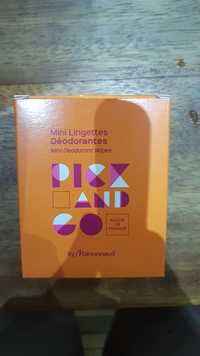 MARIONNAUD - Pick and Go - Mini lingettes déodorantes