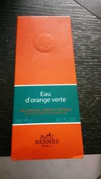 Hermès Paris - Eau d'orange verte - Gel douche
