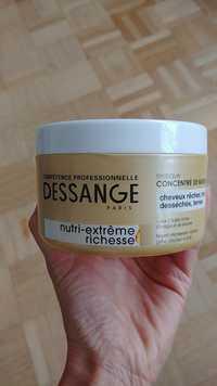 DESSANGE PARIS - Nutri-extrême richesse - Masque concentré de nutrition