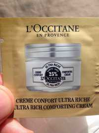 L'Occitane - Karité - Crème confort ultra riche