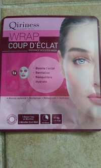 QIRINESS - Wrap coup d'éclat - Radiance booster mask