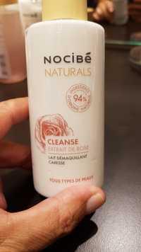 NOCIBÉ - Naturals Cleanse - Lait démaquillant caresse à l'extrait de rose