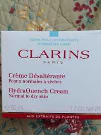 Clarins - Soins multi-hydratants - Crème désaltérante
