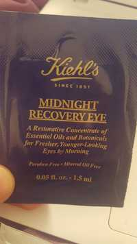 Kiehl's - Midnight recovery eye