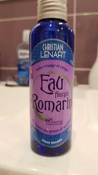 Christian Lénart - Eau florale romarin