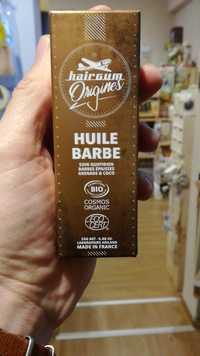 Hairgum Origines - Huile barbe bio - Soin quotidien