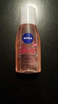 NIVEA - Glow happy shake - Augen make-up entferner