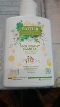 Cattier - Moussant familial - Family shampoo & shower gel bio