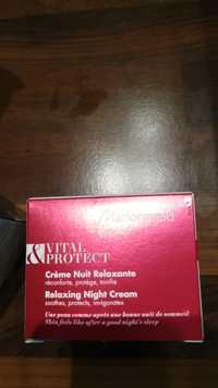 MARIONNAUD - Vital & Protect - Crème nuit relaxante