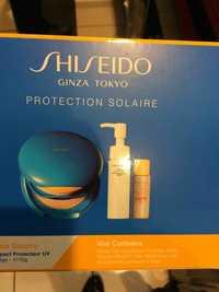 Shiseido - Protection solaire - Fond de teint , huile démaquillante et BB cream