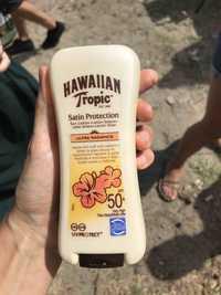 HAWAIIAN TROPIC - Satin protection - Lotion solaire ultra radiance SPF 50+