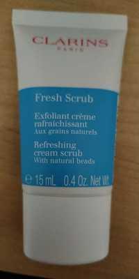 Clarins - Fresh scrub - Exfoliant crème rafraîchissant