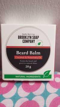 Brooklyn soap company - Coconut & rosemary oil - Beard balm