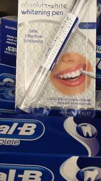 Dr Fresh - Absolute white - Whitening gel pen