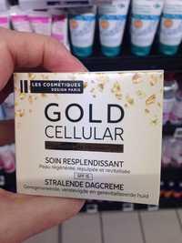 LES COSMÉTIQUES DESIGN PARIS - Gold cellular - Soin resplendissant
