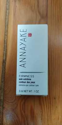 Annayake - Firmness - Soin extrême contour des yeux