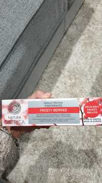 NATURA SIBERICA - Frosty berries - Natural siberian toothpaste