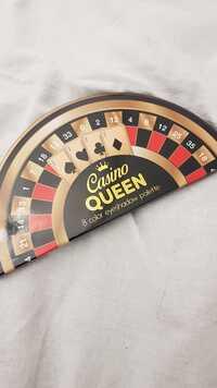 CASINO - Queen - 8 color eyeshadow palette