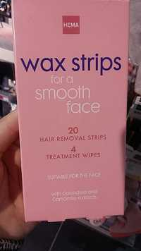HEMA - Wax strips for a smooth face