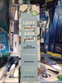 Love beauty and planet - Coco & menthe poivrée - Dentifrice
