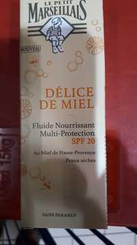 LE PETIT MARSEILLAIS - Délice de Miel - Fluide nourrissant multi-protection SPF 20