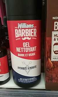 Williams - Barbier - Gel nettoyant barbe et visage