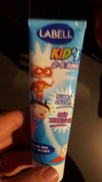 LABELL - Kid's 2-6 ans - Dentifrice goût bubble-gum