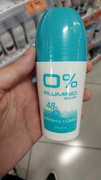 DELIPLUS - Fresh & clean - Déodorant 0% aluminio roll-on 48h