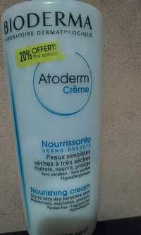 BIODERMA - Atoderm Crème - Nourrissante - Dermo-breveté