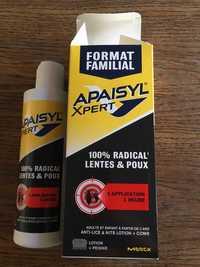 MERCK - Apaisyl xpert - Anti-lice & nits lotion + comb