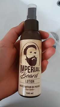 IMPERIAL BEARD - Lotion - Accélérateur de pousse pour barbe