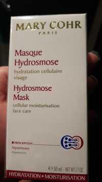 MARY COHR - Masque hydrosmose pour visage