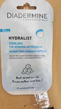 DIADERMINE - Hydralist - Masque frais lendemain difficile