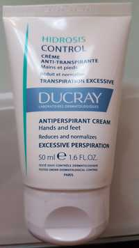 DUCRAY - Hidrosis control - Crème anti-transpirante mains et pieds