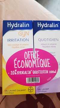 HYDRALIN - Gyn irritation + quotidien - Gel lavant calmant