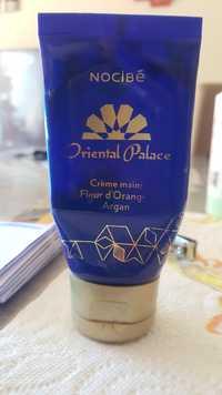 NOCIBÉ - Oriental palace - Crème mains fleur d'orange argan