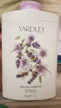 Yardley - English lavender talc parfumé