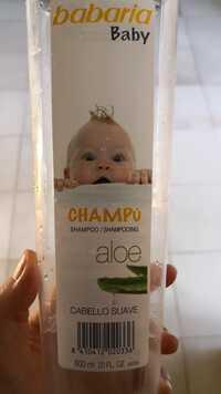 Babaria - Baby - Shampooing Aloe
