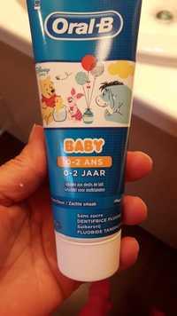 ORAL-B - Baby arôme doux - Sans sucre dentifrice fluoré
