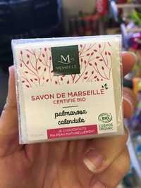 MESSÉGUÉ - Palmarosa calendula - Savon de Marseille certifié bio