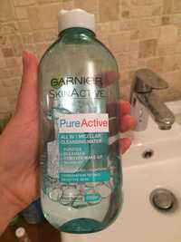 GARNIER - SkinActive Pure active - All in 1 micellar cleansing water