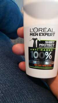 L'ORÉAL MEN EXPERT - Shirt protect - Anti-marks 100% Déodorant anti-perspirant 48h