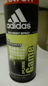 ADIDAS - Pure game - Déo body spray 24h