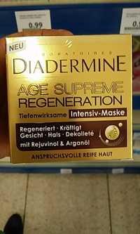 DIADERMINE - Age suprême régénération - Intensiv-maske